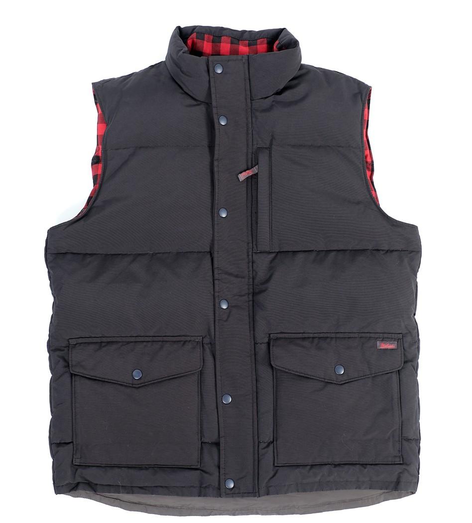 dcf1705729c Жилет Langhorne Vest черный - Интернет магазин брендовой одежды  BOMBABRANDS.RU