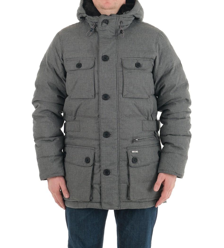 Пуховик Lucas Melange Parka - Интернет магазин брендовой одежды BOMBABRANDS.RU
