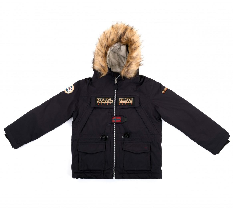 Парка зимняя Skidoo Open Blue Marine - Интернет магазин брендовой одежды BOMBABRANDS.RU