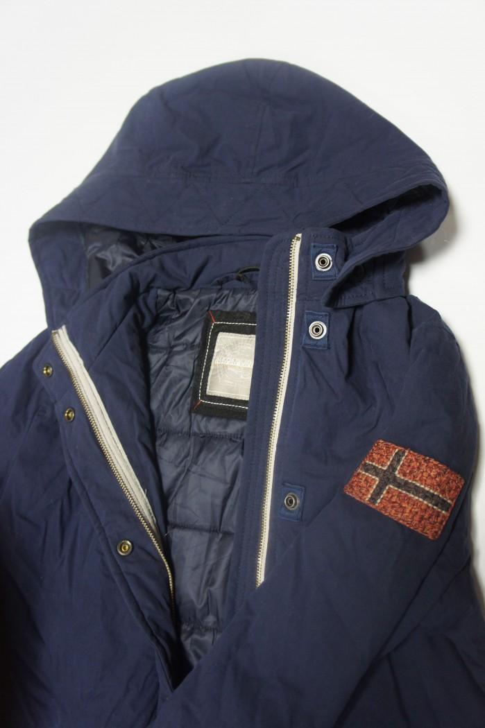 fd10351e2 Парка синего цвета - Интернет магазин брендовой одежды BOMBABRANDS.RU