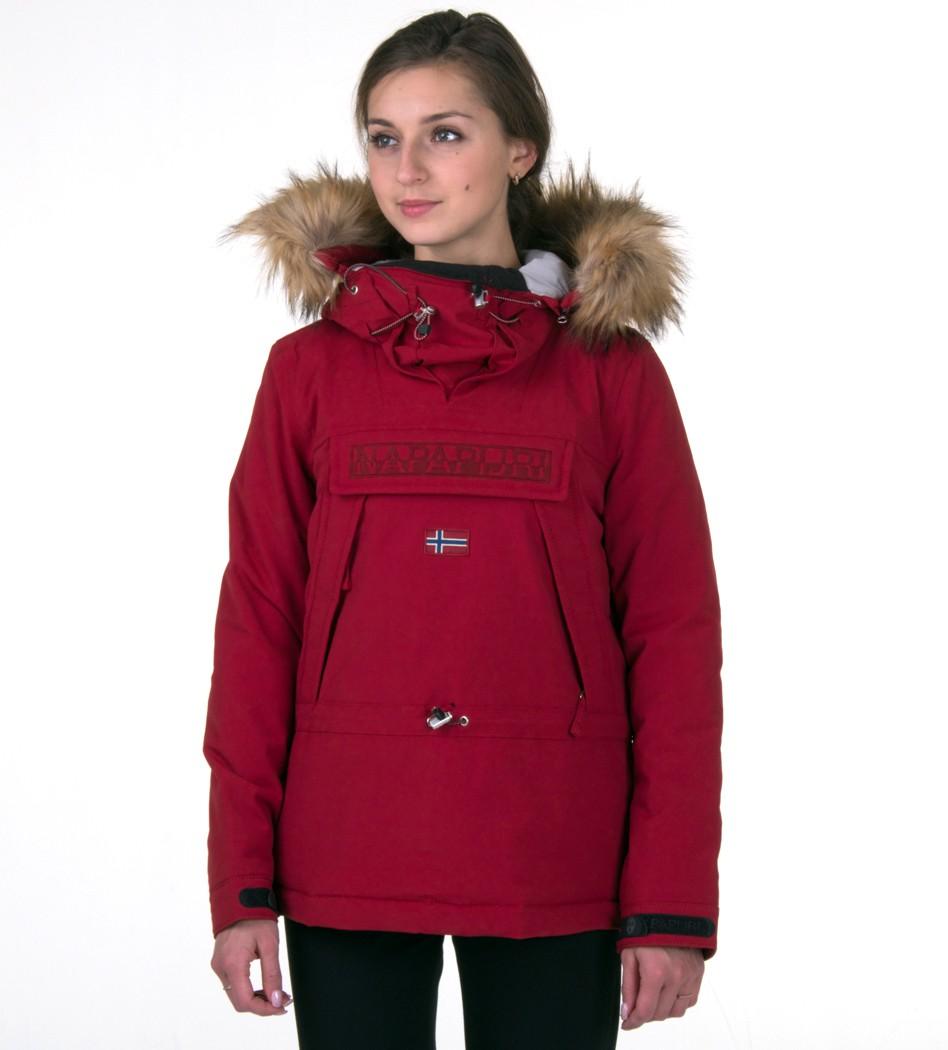 74c9a4518 Анорак Skidoo Burnt Russet with fur - Интернет магазин брендовой одежды  BOMBABRANDS.RU
