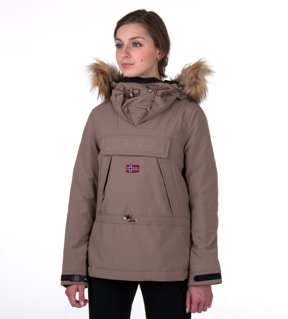 df343097c Куртка-анорак Skidoo Mire with fur - Интернет магазин брендовой одежды  BOMBABRANDS.RU