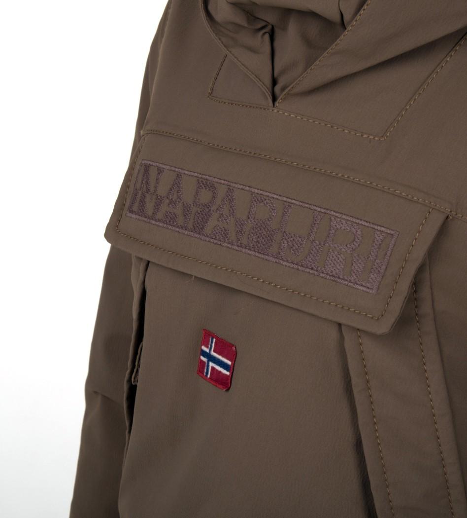 5654ea24f Анорак Skidoo New Military with fur - Интернет магазин брендовой одежды  BOMBABRANDS.RU
