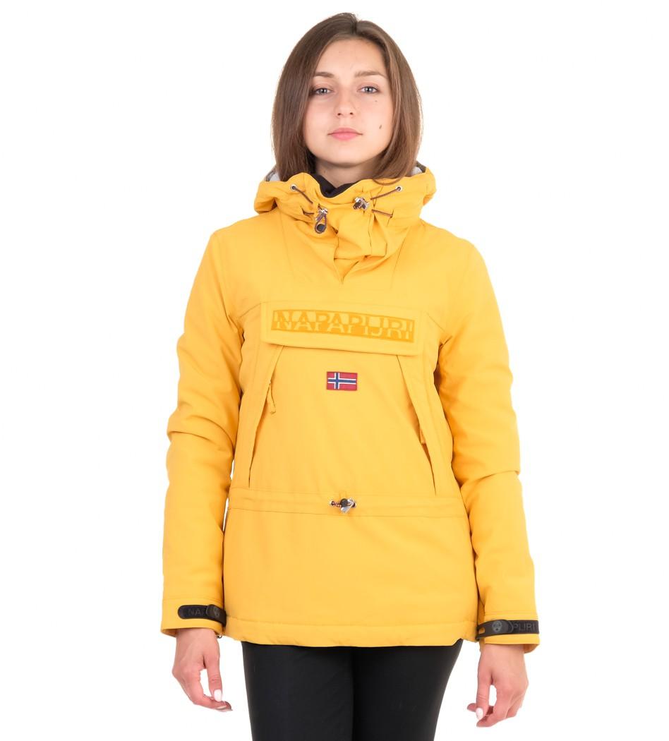 5a7df73ff852 Куртка анорак женская Napapijri Skidoo Mango (Напапири)