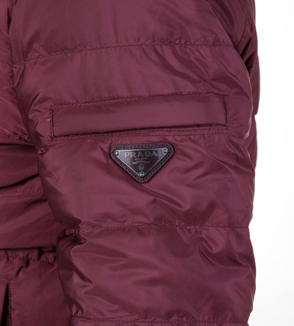 942188c1a75b Пуховик SGH 025 burgundy - Интернет магазин брендовой одежды BOMBABRANDS.RU