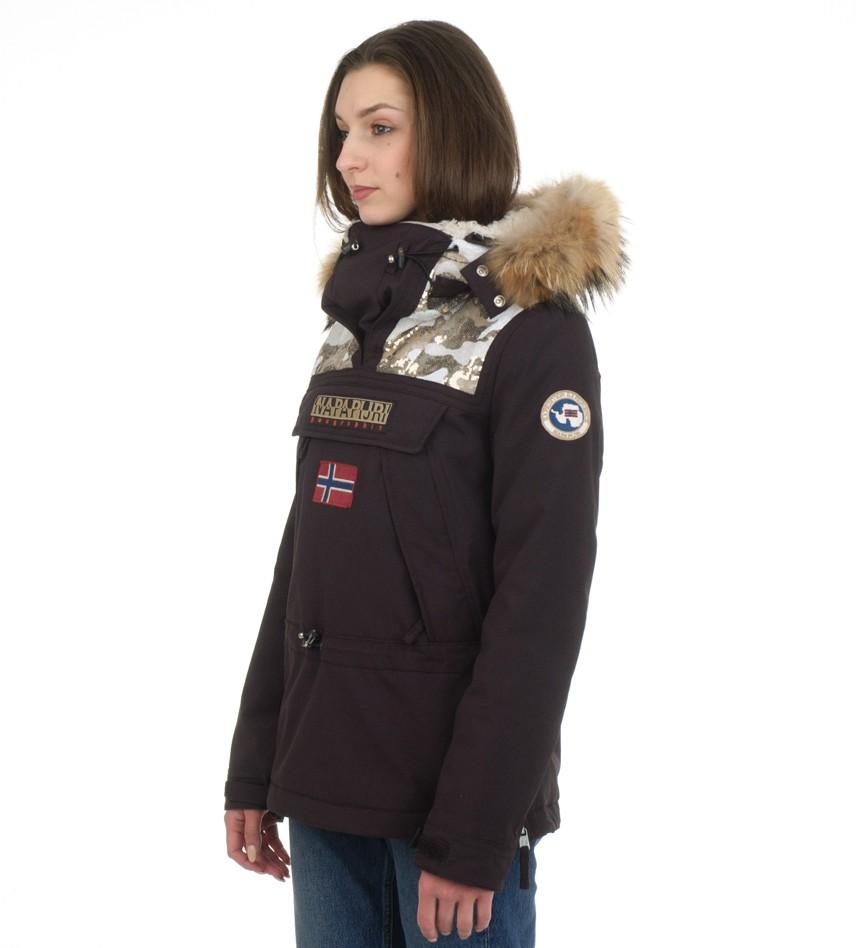9d2c64205 Анорак Skidoo Limited с натуральным мехом - Интернет магазин брендовой  одежды BOMBABRANDS.RU