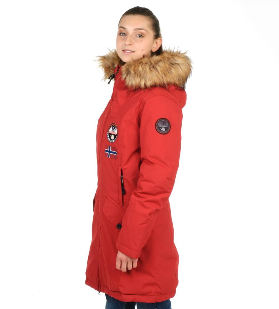 ede01cb16 Парка зимняя цвет красный - Интернет магазин брендовой одежды BOMBABRANDS.RU