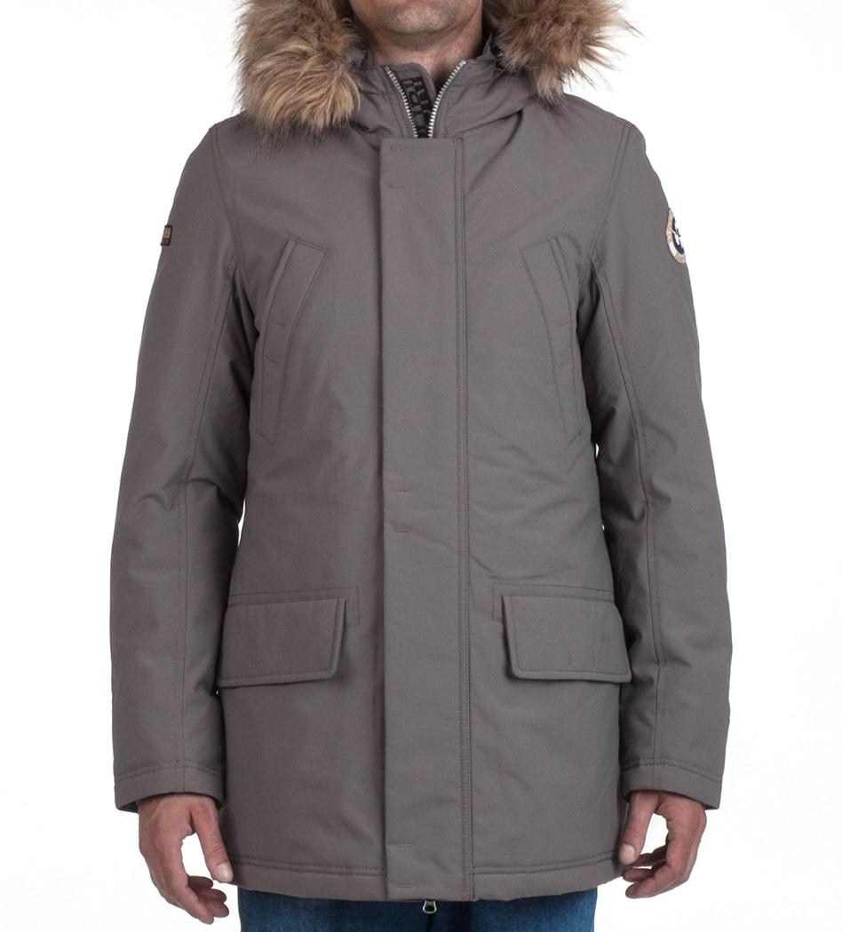 Парка зимняя Smu Aldin Long Antracide - Интернет магазин брендовой одежды BOMBABRANDS.RU