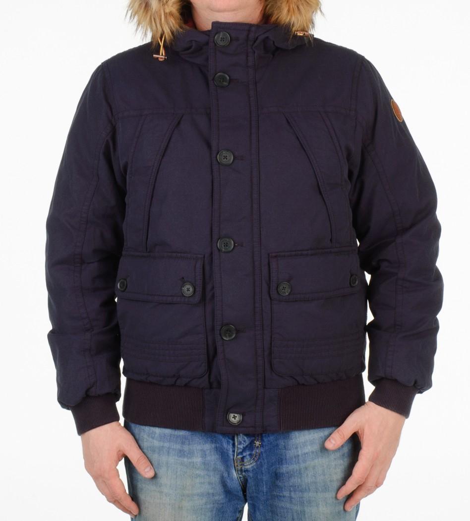 Куртка зимняя синяя 0yfco  - Интернет магазин брендовой одежды BOMBABRANDS.RU