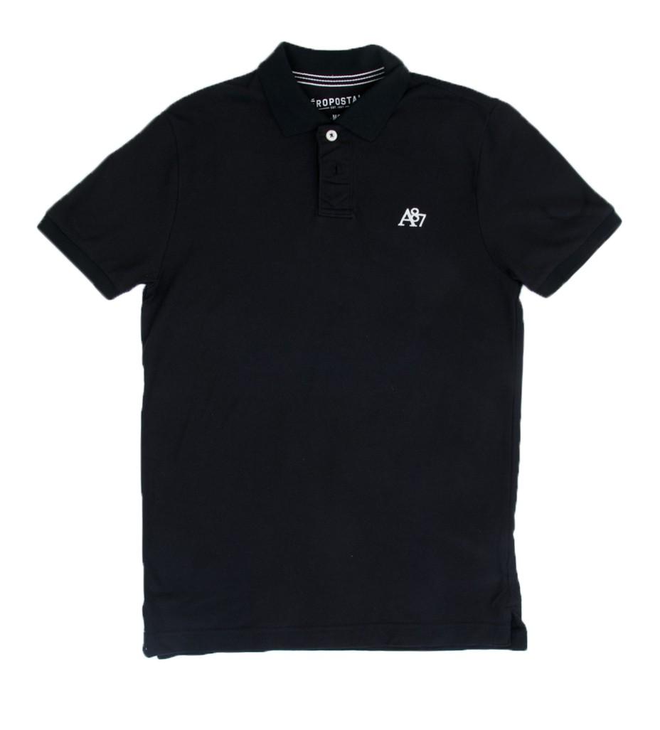 Поло черное - Интернет магазин брендовой одежды BOMBABRANDS.RU