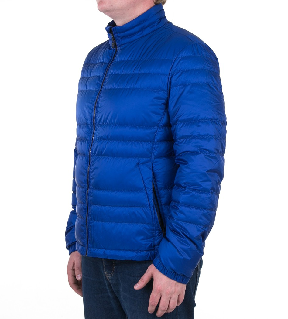 Пуховик Daniell1 blue - Интернет магазин брендовой одежды BOMBABRANDS.RU