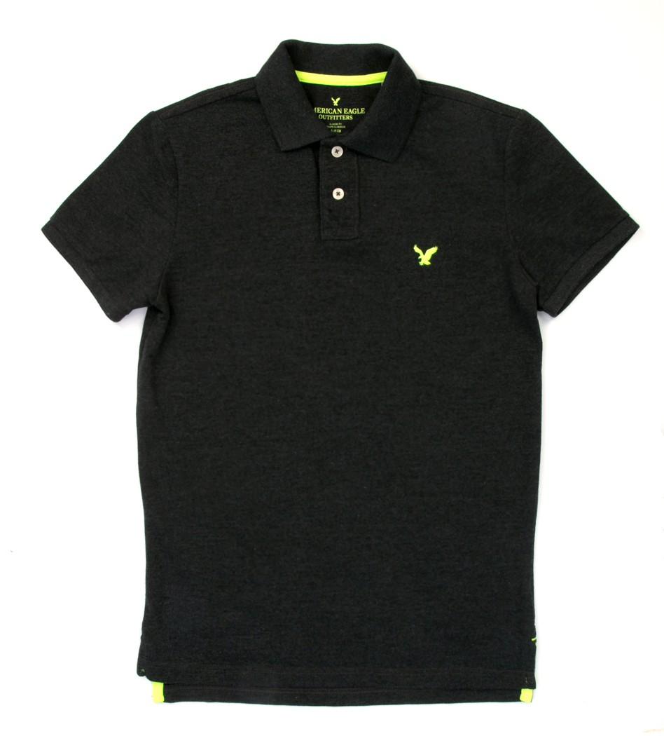 Поло серое с орлом - Интернет магазин брендовой одежды BOMBABRANDS.RU