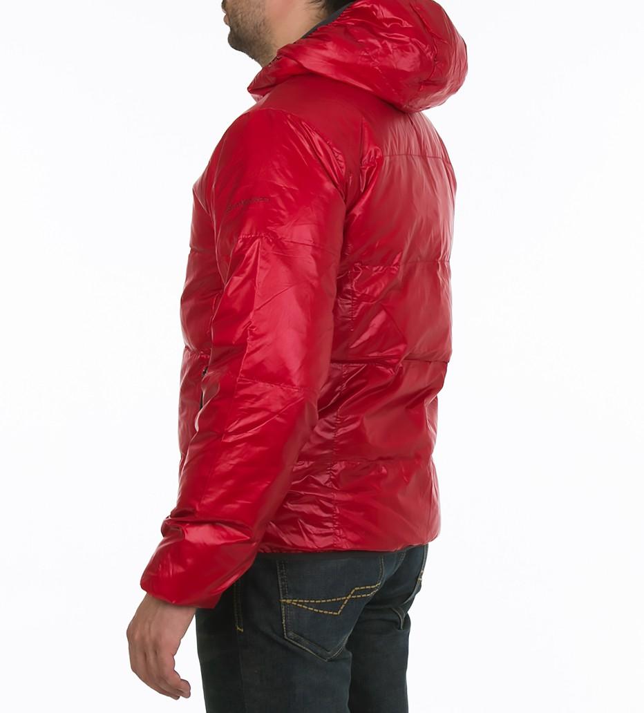 62cdec1bae83 Пуховик с капюшоном красный - Интернет магазин брендовой одежды  BOMBABRANDS.RU