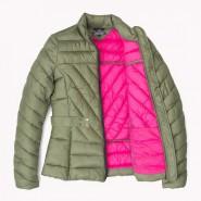 Куртка с поясом оливковая - Интернет магазин брендовой одежды BOMBABRANDS.RU