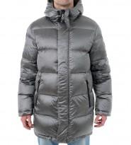 Пуховик Full Length Puffer Jacket silver - Интернет магазин брендовой одежды BOMBABRANDS.RU