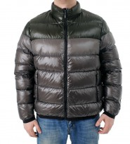 Пуховик  Shiny Puffer jacket pearl grey - Интернет магазин брендовой одежды BOMBABRANDS.RU