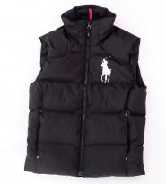 Жилет пух. Big Pony Black без капюшона - Интернет магазин брендовой одежды BOMBABRANDS.RU