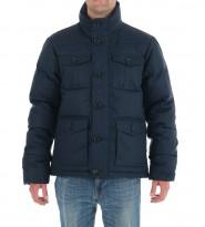 Пуховик Damien Bomber Navy - Интернет магазин брендовой одежды BOMBABRANDS.RU
