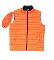 Жилет пуховый оранжевый - Интернет магазин брендовой одежды BOMBABRANDS.RU