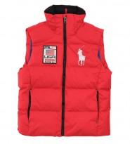 Жилет пуховый PRL67 USA Down Hill Alpine Big Pony Ski - Интернет магазин брендовой одежды BOMBABRANDS.RU