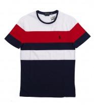 Футболка Custom Slim Fit Colorblock - Интернет магазин брендовой одежды BOMBABRANDS.RU