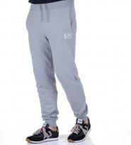 Брюки спортивные EA 7 на резинке серые - Интернет магазин брендовой одежды BOMBABRANDS.RU