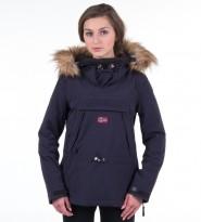 Анорак Skidoo Blue Marine with fur - Интернет магазин брендовой одежды BOMBABRANDS.RU