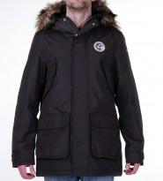 Парка Acona с мехом темно коричневая - Интернет магазин брендовой одежды BOMBABRANDS.RU
