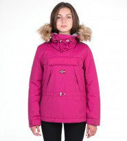 Анорак Skidoo Fuxia with fur (Уценка) - Интернет магазин брендовой одежды BOMBABRANDS.RU