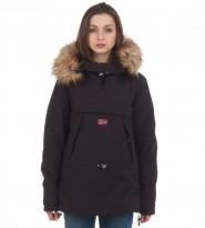 Анорак Skidoo Black with fur - Интернет магазин брендовой одежды BOMBABRANDS.RU