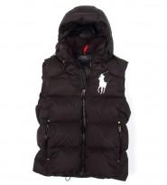 Жилет пуховый Big Pony Black - Интернет магазин брендовой одежды BOMBABRANDS.RU