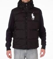 Жилет пуховый Tyrol Black с капюшоном - Интернет магазин брендовой одежды BOMBABRANDS.RU
