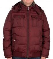 Куртка зимняя бордовая - Интернет магазин брендовой одежды BOMBABRANDS.RU