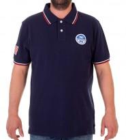 Поло Team Rosso Navy - Интернет магазин брендовой одежды BOMBABRANDS.RU