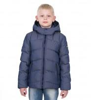 Пуховик Nebraska синий - Интернет магазин брендовой одежды BOMBABRANDS.RU