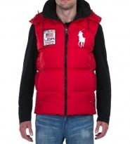 Жилет пуховый Big Pony Usa Red - Интернет магазин брендовой одежды BOMBABRANDS.RU