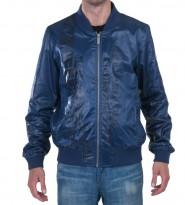 Ветровка бомбер синяя - Интернет магазин брендовой одежды BOMBABRANDS.RU