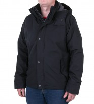 Куртка с капюшоном черная - Интернет магазин брендовой одежды BOMBABRANDS.RU