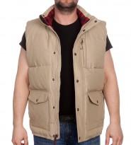 Жилет Langhorne vest бежевый - Интернет магазин брендовой одежды BOMBABRANDS.RU