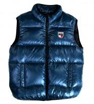 Жилет пуховый бирюзовый - Интернет магазин брендовой одежды BOMBABRANDS.RU