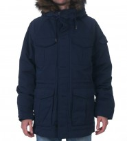 Пуховик - аляска синяя - Интернет магазин брендовой одежды BOMBABRANDS.RU
