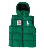 Жилет пуховый Big Pony Usa green - Интернет магазин брендовой одежды BOMBABRANDS.RU