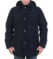 Пуховик Doug parka navy - Интернет магазин брендовой одежды BOMBABRANDS.RU