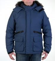 Пуховик Storm Crasher jacket navy - Интернет магазин брендовой одежды BOMBABRANDS.RU