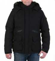 Пуховик Storm Crasher jacket black - Интернет магазин брендовой одежды BOMBABRANDS.RU