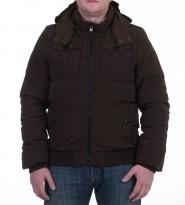 Пуховик Doug Bomber Brown - Интернет магазин брендовой одежды BOMBABRANDS.RU