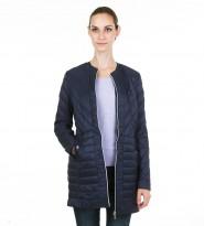Пальто Lily quilted coat navy - Интернет магазин брендовой одежды BOMBABRANDS.RU