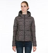 Пуховик двухсторонний леопард - Интернет магазин брендовой одежды BOMBABRANDS.RU