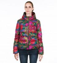 Куртка с принтом в виде цветов - Интернет магазин брендовой одежды BOMBABRANDS.RU