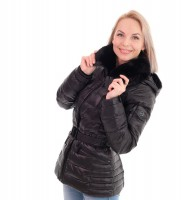 Пуховик черный укороченный - Интернет магазин брендовой одежды BOMBABRANDS.RU